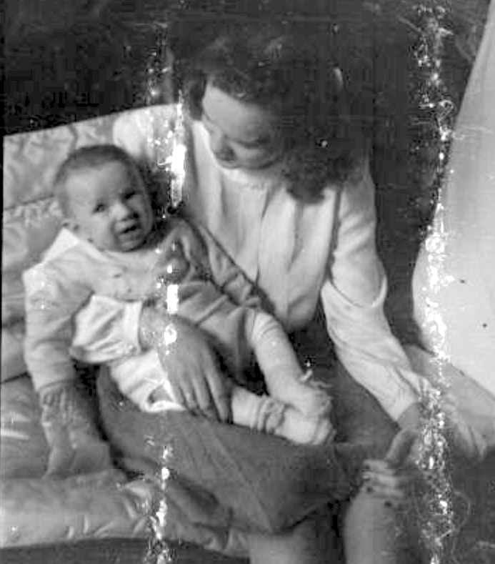 baby sandorf with mary 1
