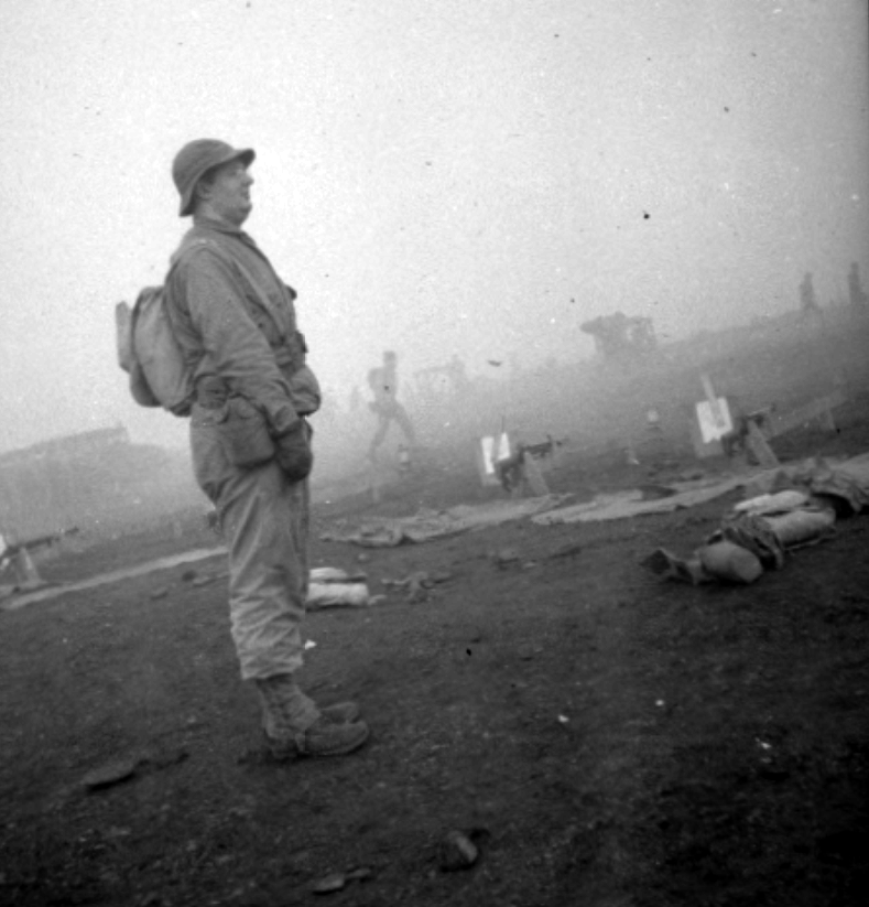 dad in fog