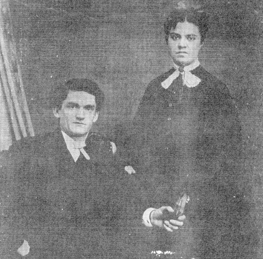 john b ressiguie with his first wife