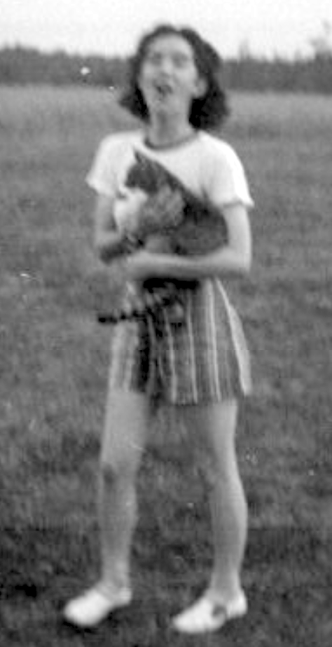 kathy with cat 1