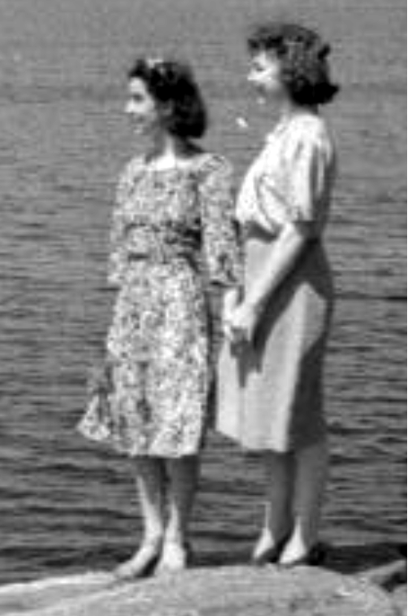 mary and Kathy 1951 1