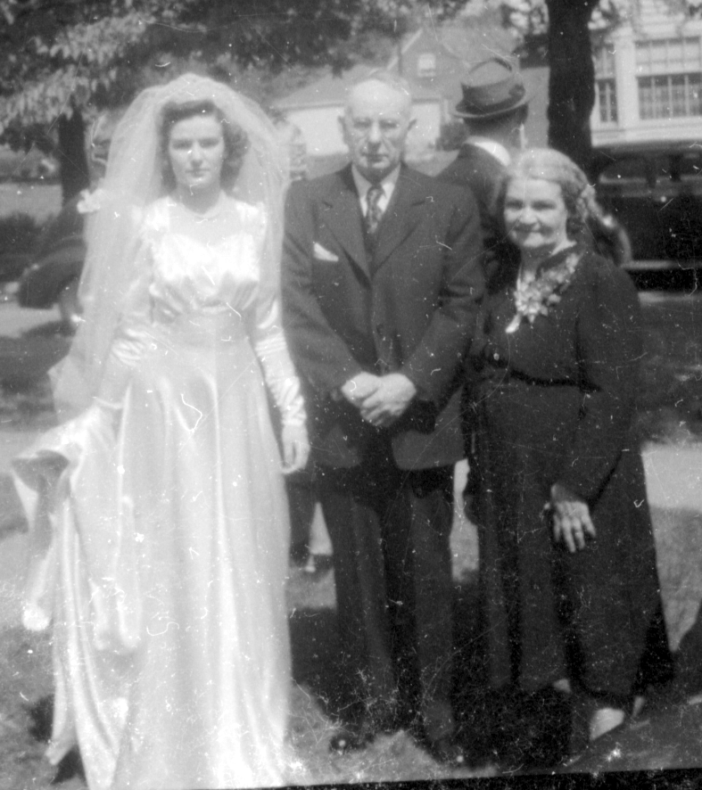 mary grandma grandpa wedding 1