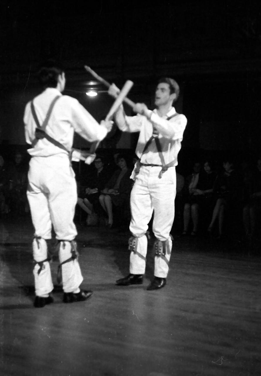 morris dancers at panto 67