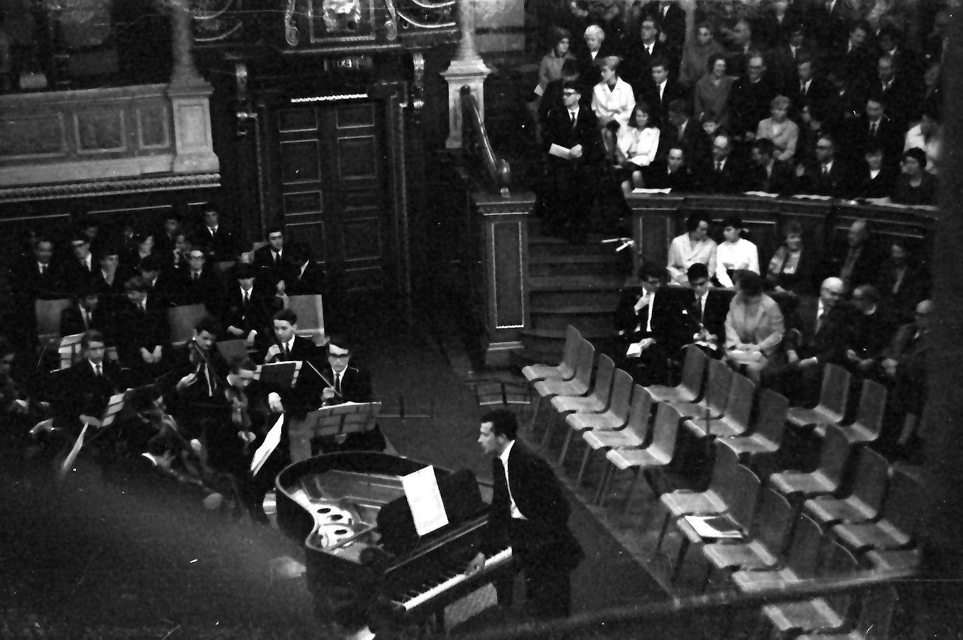 percy somerscales and mike at sheldonian 68