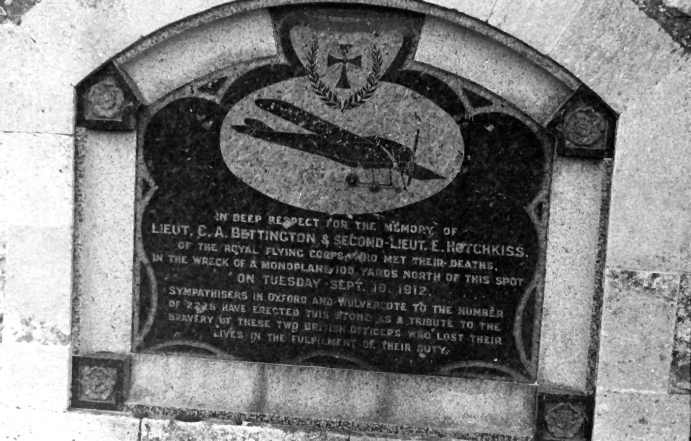 royal flying corps monument