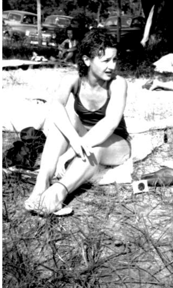 unidentified woman at beach 1