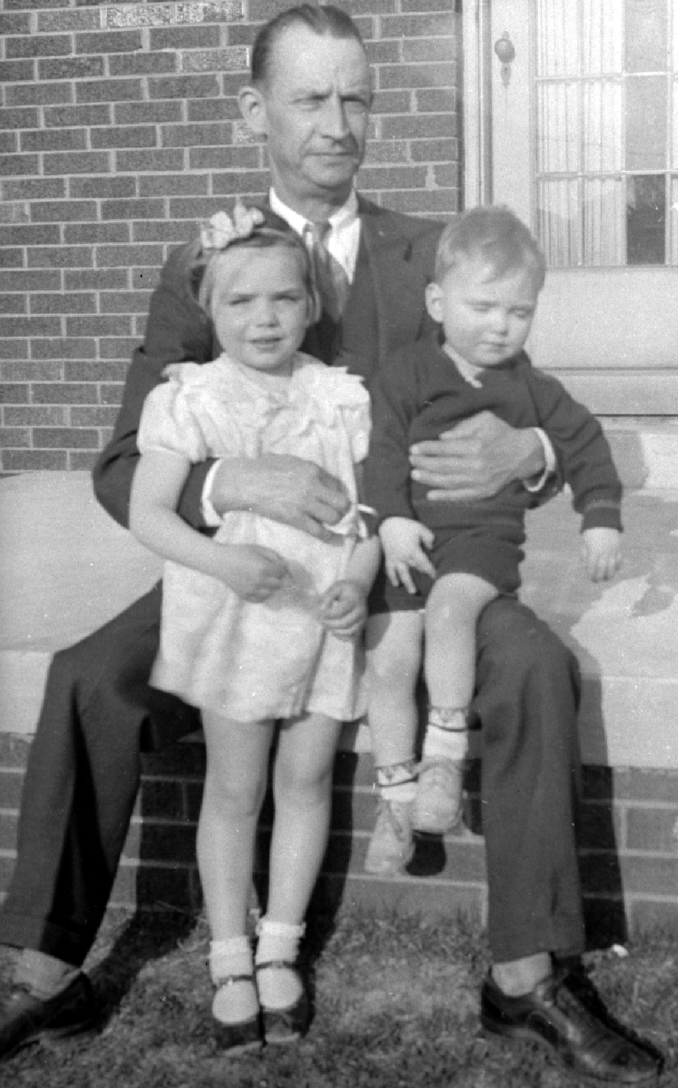 unknown with Mom and Henry